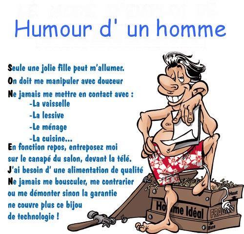 Humour Dun Homme
